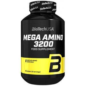 Амино комплекс , Mega Amino 3200 - 100 tab , BioTech (USA) (CША)