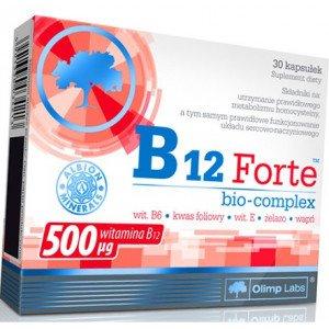 Витамин В-12 , B12 Forte - 30 caps , Olimp Sport Nutrition (Польша)