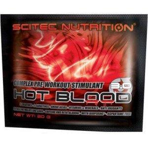 Предтренировочный комплекс , Hot Blood 3.0 - 20 g , Scitec Nutrition (Венгрия)