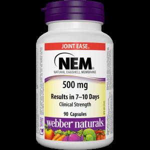 Хондропротекторный комплекс , NEM 500mg - 30 tab , Webber Naturals (Канада)