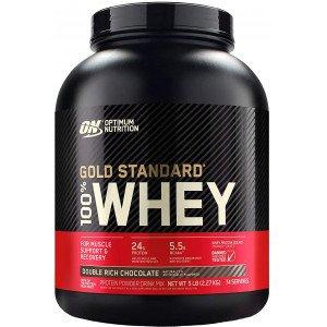 Протеин , 100% Whey Gold Standard - 2,27 kg , Optimum Nutrition (CША)