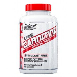 Жиросжигатель , Lipo-6 Black  Carnitine - 60 caps , Nutrex (США )