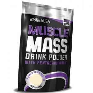 Гейнер , Muscle Mass - 1 kg , BioTech (USA) (CША)