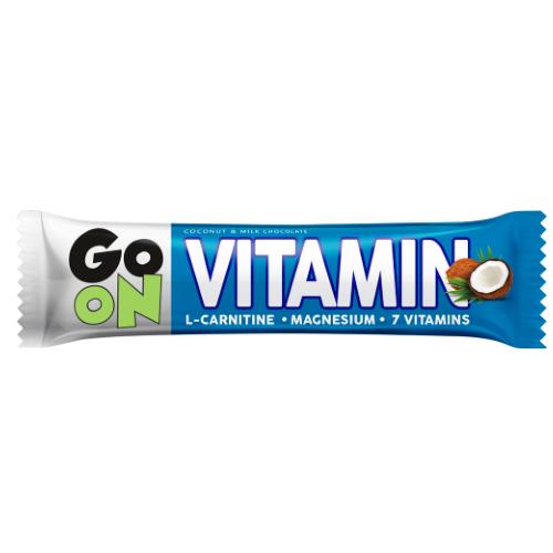 Энергетический батончик , Батончик Go On Vitamin баунти - 50 g , Go On (Польша)